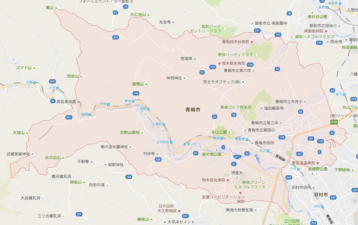 日本-都道府県-地図情報